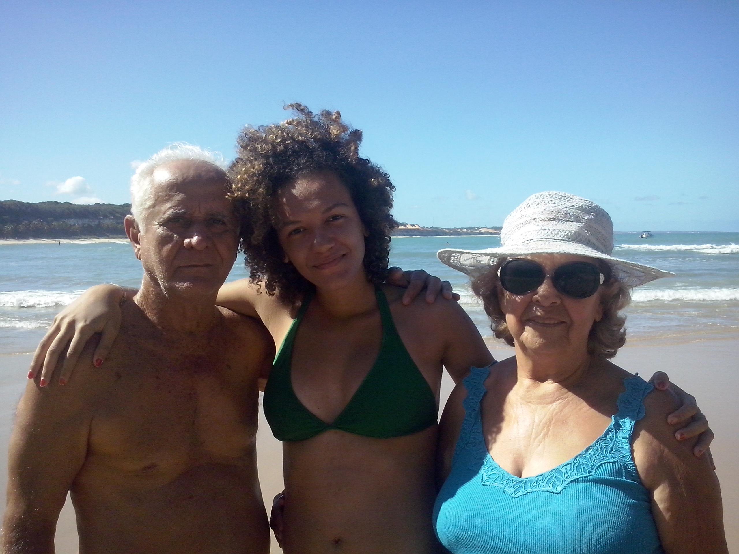 Isabela e seus pais